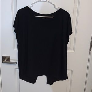 Yogalicious Black Workout Tee Size L